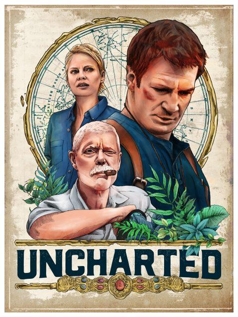 Uncharted fan film poster