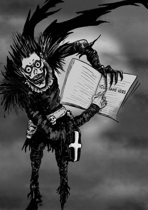 SHINIGAMI DEATHNOTE MANGA COMICS POSTER