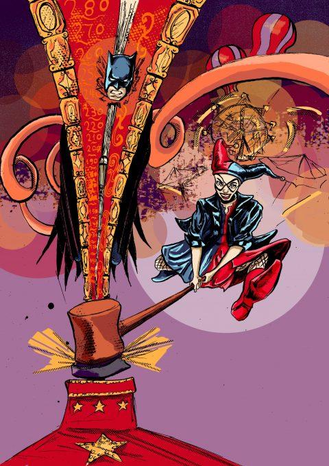 HARLEY QUINN VS BATMAN FanArt Poster