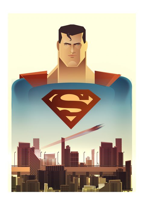 Superman Animated Tribute