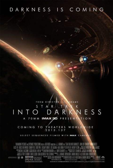 Star Trek Into Darkness – One-Sheets