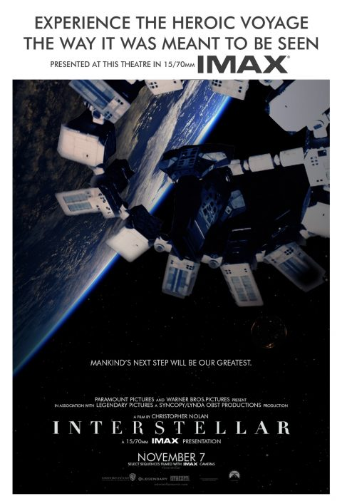Interstellar – Retro Framing One-Sheets