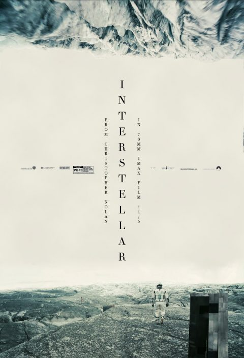 Interstellar – Vertical Text One-Sheets