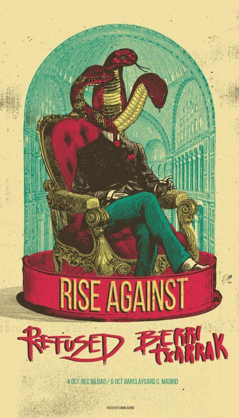Rise Against – Refused – Berri Txarrak