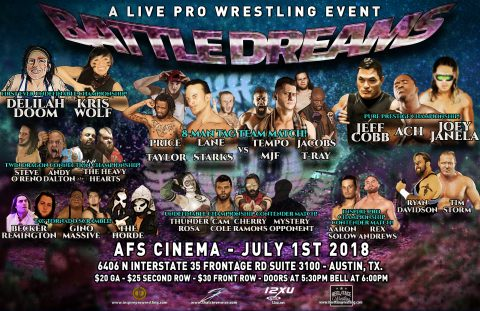 Inspire Pro Wrestling: Battledreams