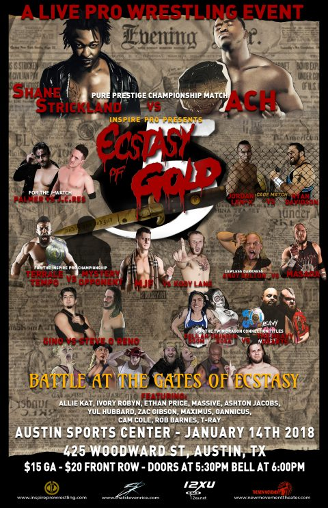 Inspire Pro Wrestling: Ecstasy of Gold 5