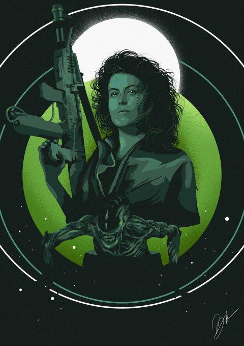 Film Heroines – Ellen Ripley (Alien)
