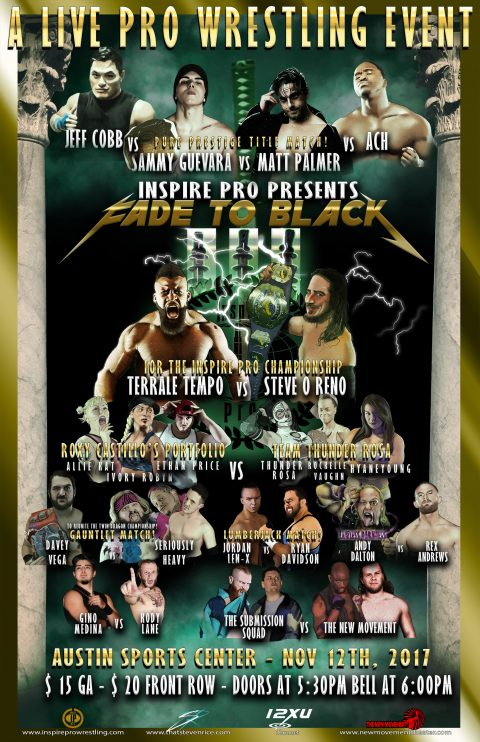 Inspire Pro Wrestling: Fade to Black 3