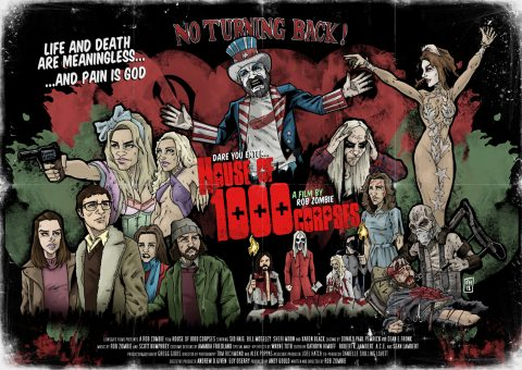 House of 1000 Corpses alternative movie poster
