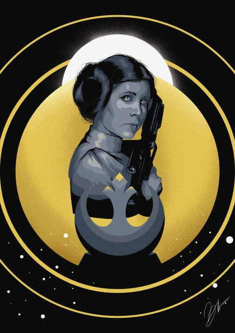 Film Heroines – Leia (Star Wars)