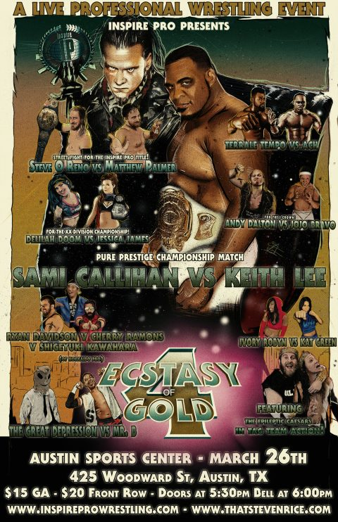 Inspire Pro Wrestling: Ecstasy of Gold 4