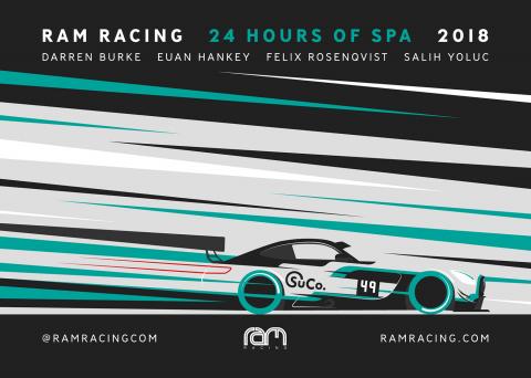 Ram Racing, 24 Hours of Spa 2018