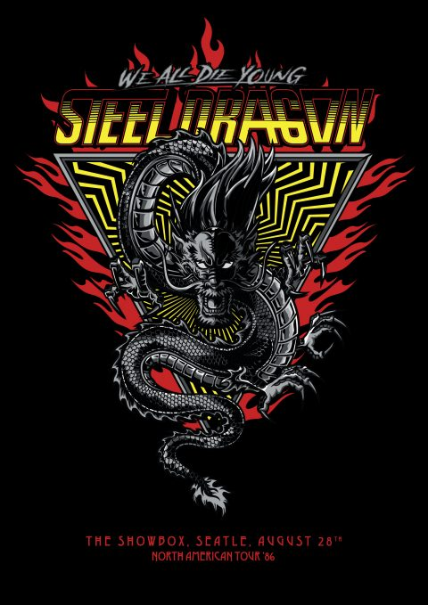 Steel Dragon – Rock Star Tribute