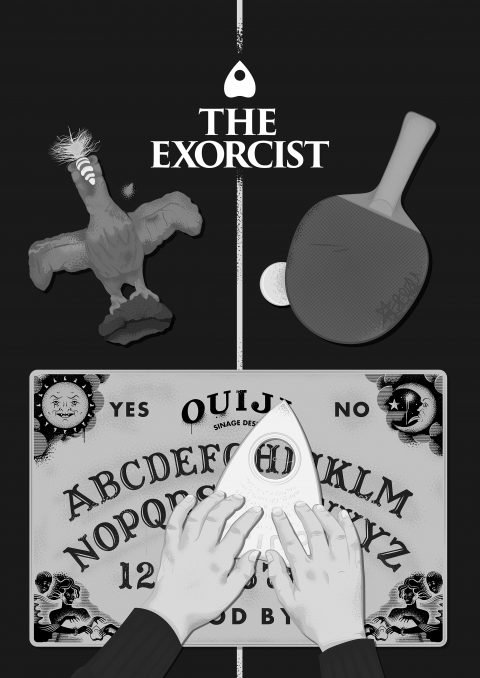 The Exorcist – Howdy (B&W Variant)