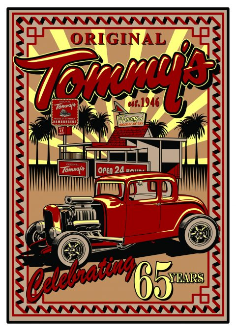 Original Tommys Tee Shirt Design