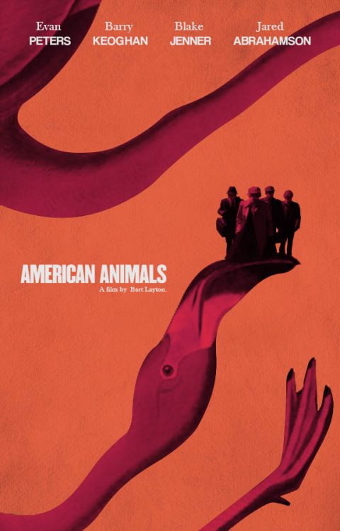American Animals Collage Poster