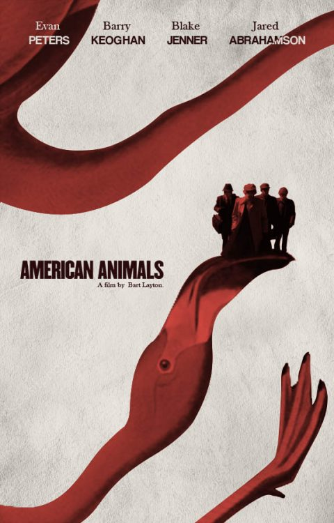 American Animals Poster Collage variant
