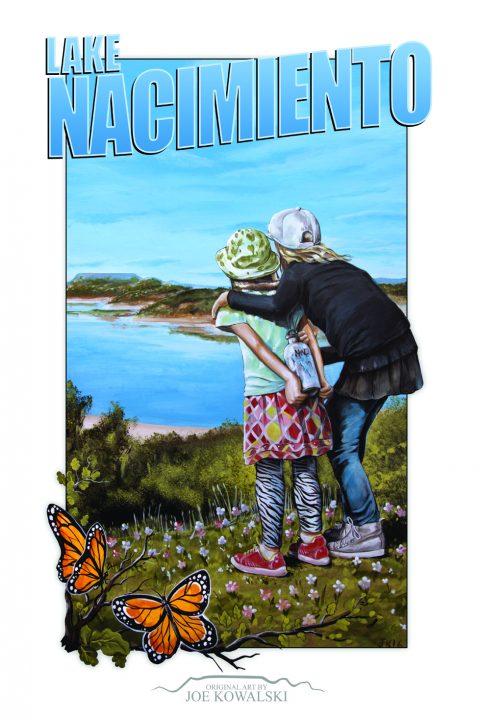 Nacimiento Travel Poster