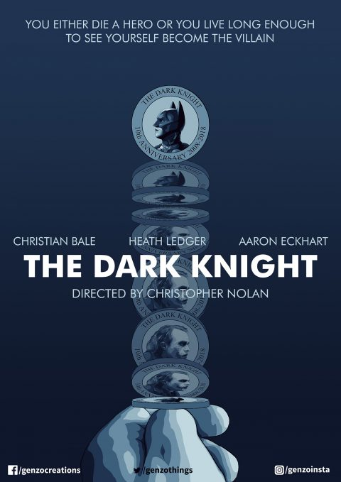 The Dark Knight 10th Anniversary MOTION POSTER