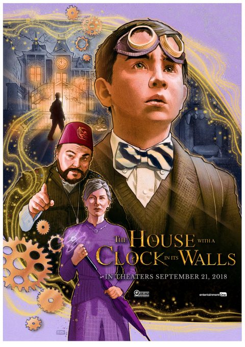 The House with a Clock in Its Walls alternative movie poster
