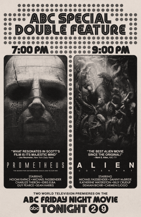 Prometheus (2012) and Alien: Covenant (2017)