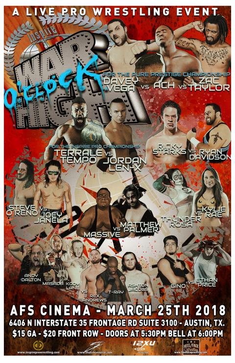 Inspire Pro Wrestling: War O'Clock High