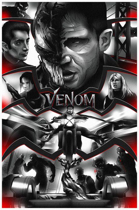 Venom (B&W)