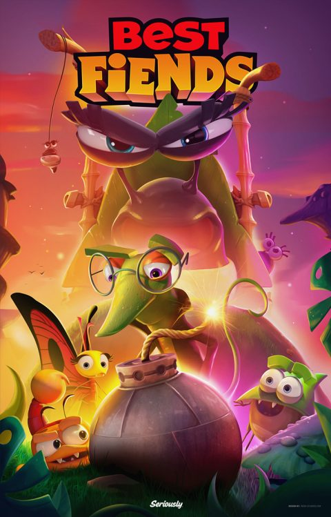 Best Fiends Concept Poster