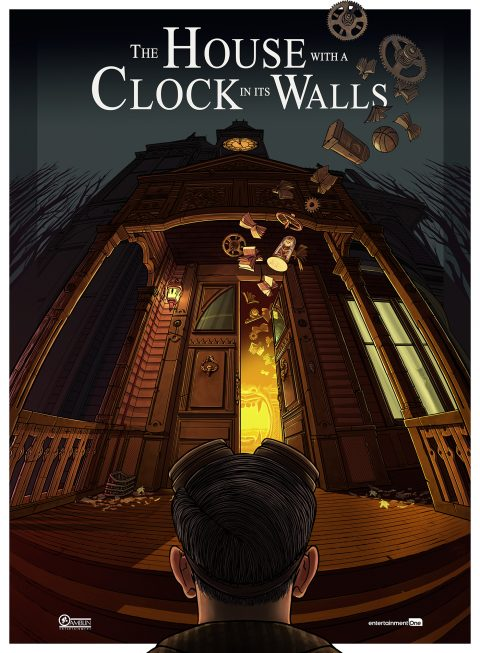 The House with a Clock in its Walls by Saniose