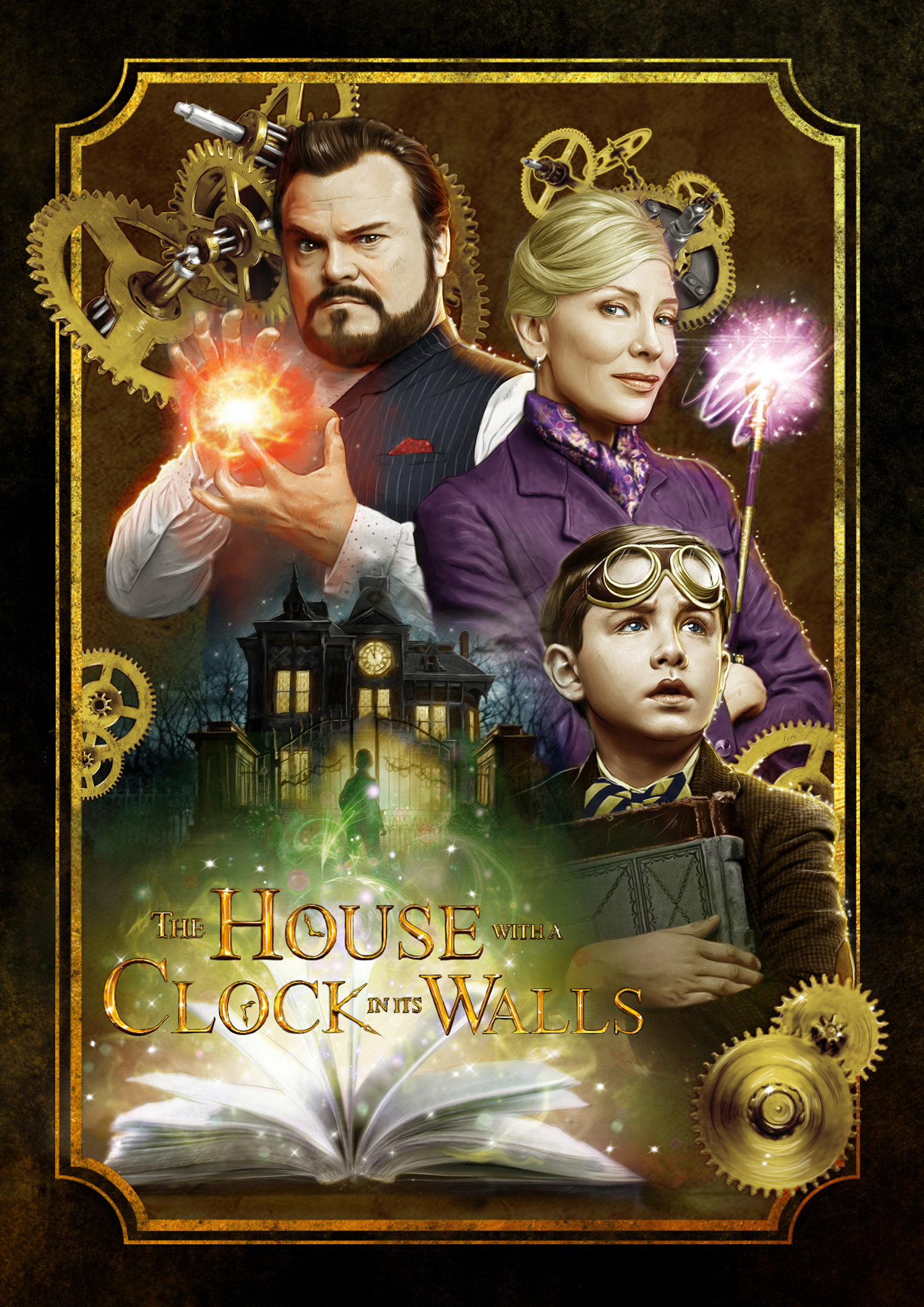 The House With A Clock In Its Walls Posterspy