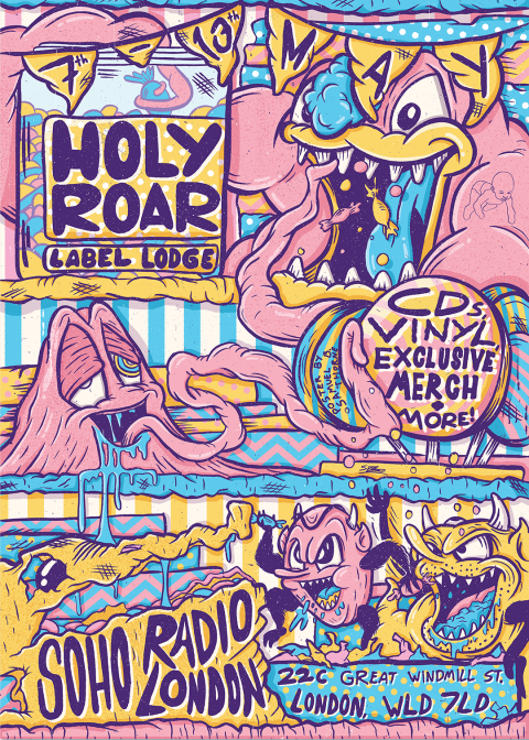 Holy Roar Label Lodge