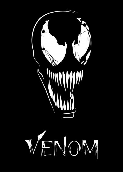 Venom Poster Illustration