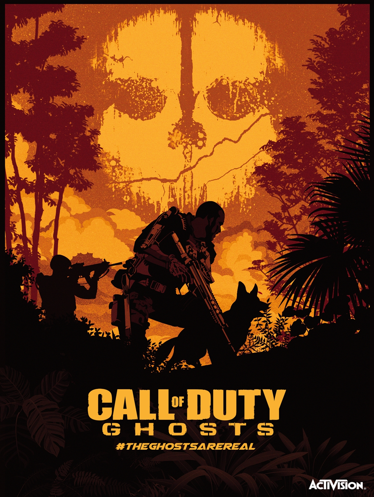 Call of Duty: Ghosts - PosterSpy
