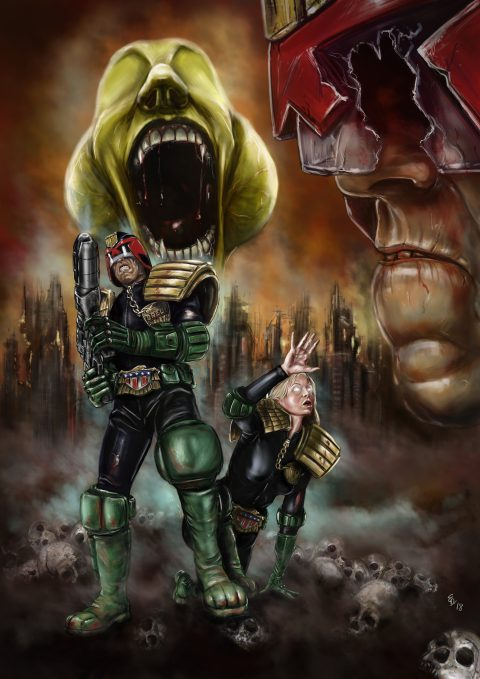 Dredd – City of the Damned