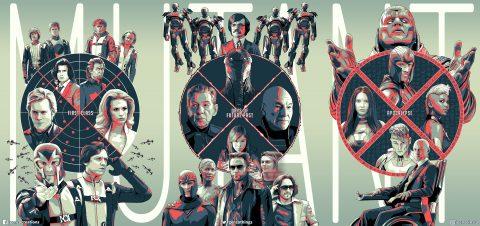X-Men Prequel Trilogy Triptych