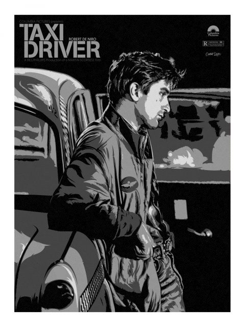 TAXI DRIVER (B&W)