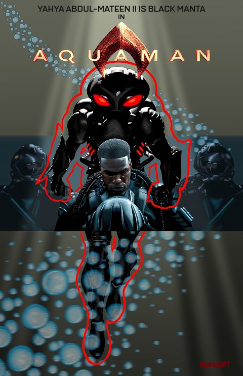 Yahya Abdul-Mateen II is Black Manta
