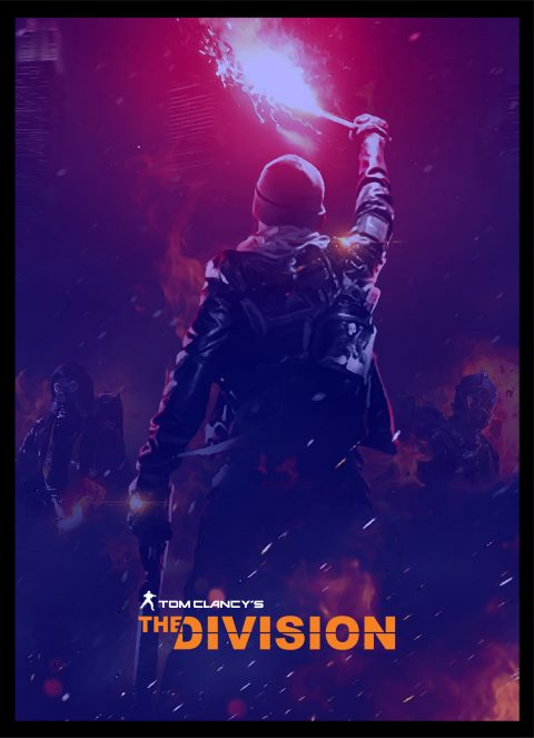 Tom Clancy's The Division Poster Design