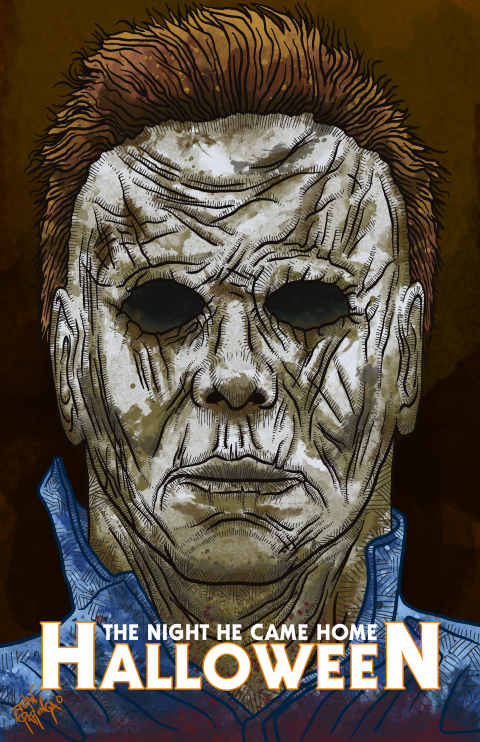 HALLOWEEN TRIBUTE PIECE (MICHAEL MYERS VARIANT)
