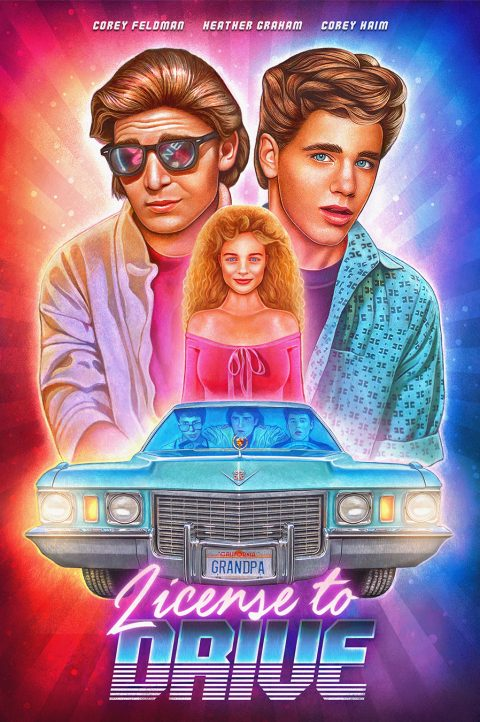 'License to Drive' Alternative Poster
