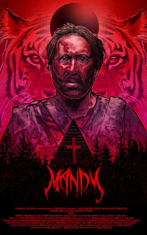 Mandy Poster by Dustin Goebel