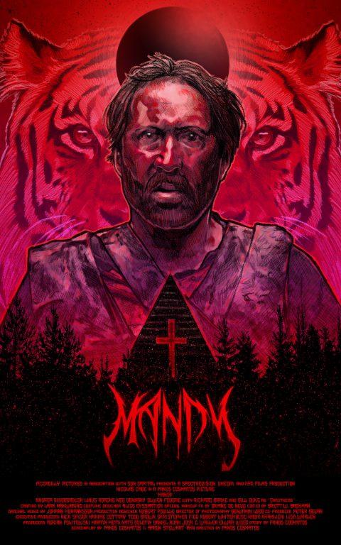 Mandy Poster by Dustin Goebel