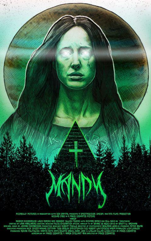 Mandy Poster (alt) by Dustin Goebel