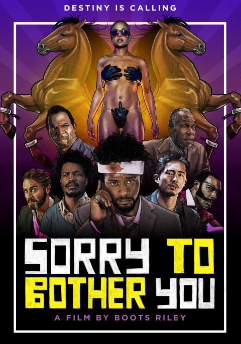 Sorry To Bother You Fan Poster