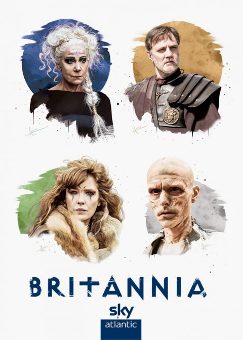 "BRITANNIA | \""Sky TV official illustrations\\"""