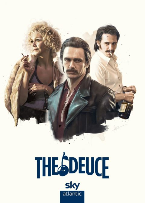 "THE DEUCE ""Sky TV official illustrations"""