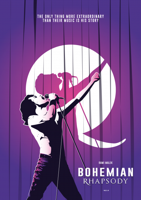 BOHEMIAN RHAPSODY Poster Art