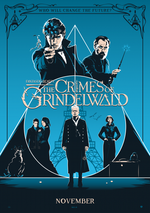 FANTASTIC BEASTS 2 Poster Art