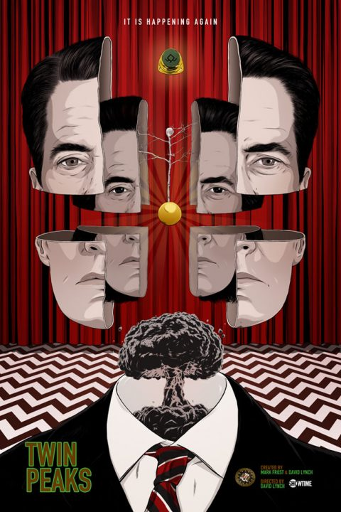 "TWIN PEAKS ""The return"""