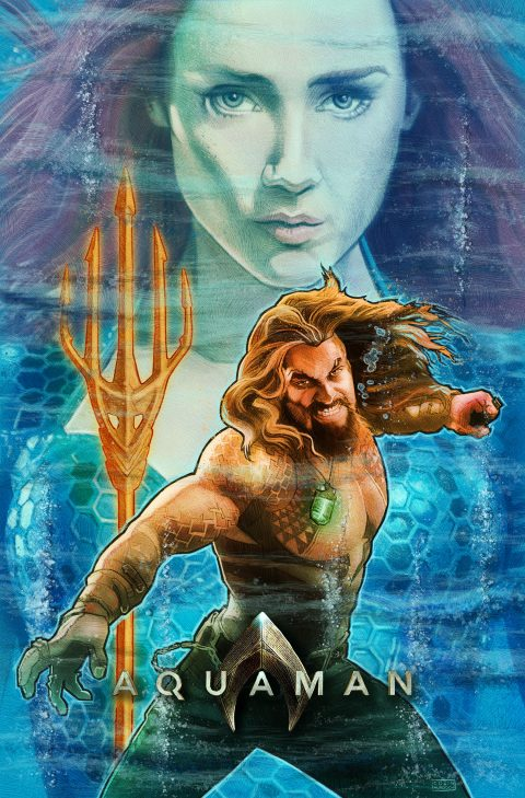 Aquaman alternative movie poster